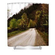 Colors Of Fall Series Zz Shower Curtain