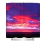 Colourful Arizona Sunset Shower Curtain