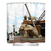 Comerica Park - Detroit Tigers Shower Curtain