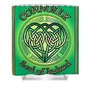 Connolly Soul Of Ireland Shower Curtain