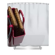 Cookie Bag Shower Curtain