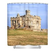 Cornwall - Pendennis Castle Shower Curtain
