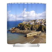 Cornwall - Port Isaac Shower Curtain