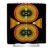 Cosmic Mitosis Shower Curtain