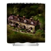 Country House In Bakewell Town Peak District - England Shower Curtain