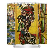 Courtesan  Shower Curtain