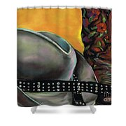 Cowgirl Necessities Shower Curtain