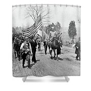 Coxey's Army, 1894 Shower Curtain