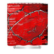 Crown Of Love Shower Curtain