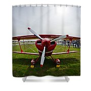 Pitts S2a Special Shower Curtain