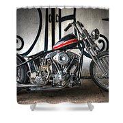 Custom Bike  Shower Curtain
