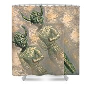 Cyprus Gods Of Trade. Shower Curtain