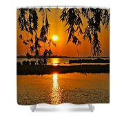 Dancing Light Shower Curtain by Frozen in Time Fine Art Photography