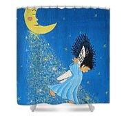 Dancing On Moonbeams Shower Curtain
