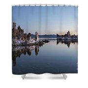 Dawn On Mono Lake Shower Curtain