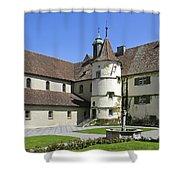 Deutschland, Insel Reichenau Am Shower Curtain by Tips Images