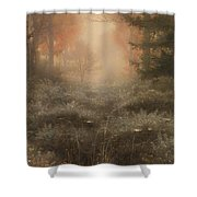 Dew Drenched Furze  Shower Curtain
