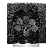 Dia De Muertos Madonna Shower Curtain