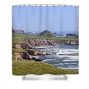 Diablo Canyon Nuclear Power Station Shower Curtain