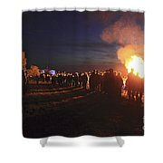 Diamond Jubilee Beacon On Epsom Downs Surrey Uk Shower Curtain