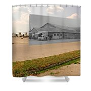 Dining Hall At Sakonnet Point In Little Compton Ri Shower Curtain