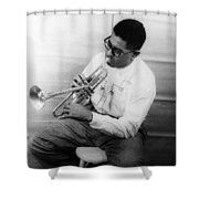 Dizzy Gillespie (1917-1993) Shower Curtain