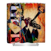 Dizzy Gillespie Collection Shower Curtain