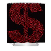 Dollar People Icon Shower Curtain