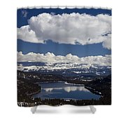 Donner Lake Donner Pass With Snow Shower Curtain