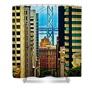 Down To The Bay Shower Curtain