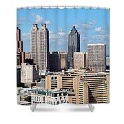 Downtown Atlanta Shower Curtain