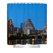 Downtown Austin Skyline Shower Curtain