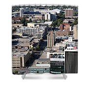 Downtown Lincoln Shower Curtain