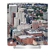 Downtown Providence Rhode Island Shower Curtain