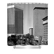 Downtown Tucson Az Shower Curtain