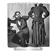Du Maurier: Trilby, 1895 Shower Curtain