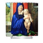 Durer's Madonna And Child Shower Curtain
