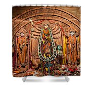 Durga Puja Festival Shower Curtain