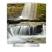 Eagle Cliff Falls Shower Curtain