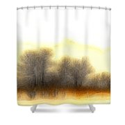 Early In The Morning Shower Curtain