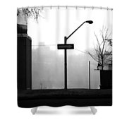 East Wind  Shower Curtain