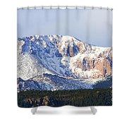 Easter Peak Shower Curtain