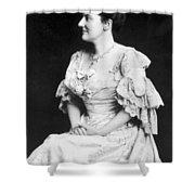 Edith K Shower Curtain