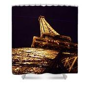 Eiffel Tower Paris France Shower Curtain by Patricia Awapara