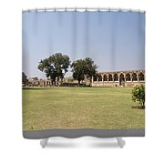 Elephant Stables Shower Curtain
