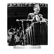 Elijah Muhammad (1897-1975) Shower Curtain
