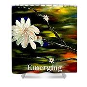 Emerging Shower Curtain