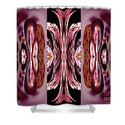 Empress Abstract Shower Curtain