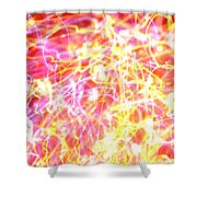 Energy Lines Shower Curtain