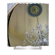 Entry Chandalier Medallion Shower Curtain